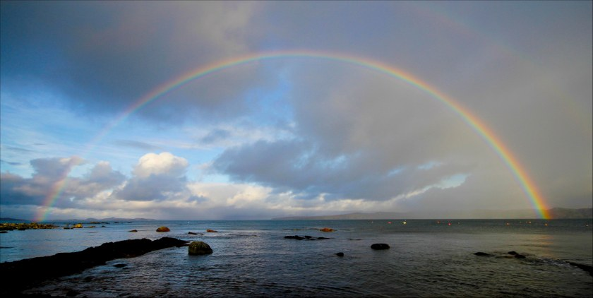 rainbow Laide jetty
